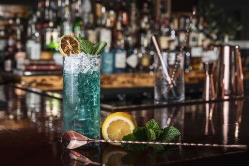 Angelo Azzuro Blue Angel Cocktail
