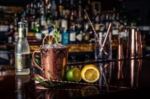 Milan Mule Cocktail