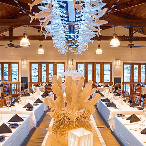 Fine Italian Dining with Waterfront Views Key West