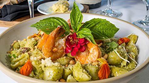 Shrimp & Pasta Coastal Italian Fine Dining