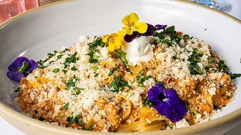 Delicious Fine Italian Dining Entree Key West